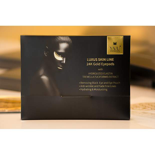 YAVU® LUXURY GOLDEN 24K  Hydrogel Eye Mask (60 Stk.)